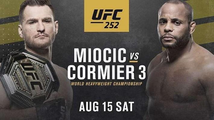 Assistir UFC 252 AO VIVO Online Grátis