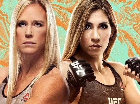 Assistir UFC: Holm x Aldana ao vivo Online 03/10/2020