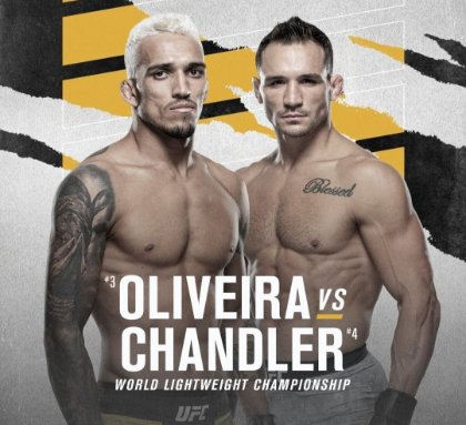 Assistir Charles Oliveira x Michael Chandler ao vivo 15/05/2021 HD