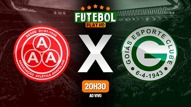 Assistir Anapolina x Goiás ao vivo HD 29/01/2020