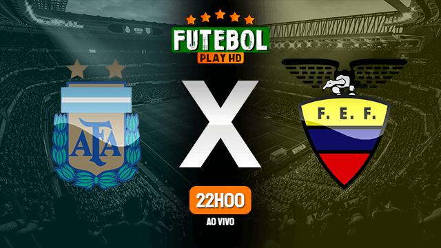 Assistir Argentina x Equador ao vivo Grátis HD 27/01/2020