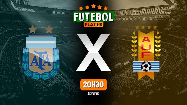 Assistir Argentina x Uruguai ao vivo 18/06/2021 HD online