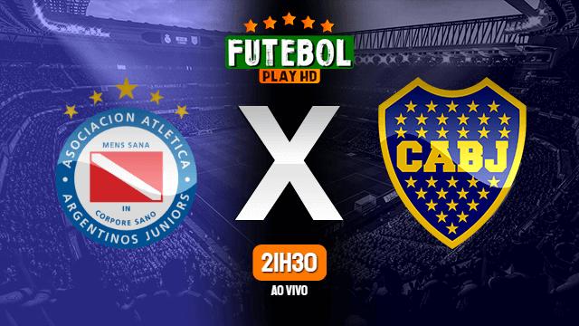 Assistir Argentinos Juniors x Boca Juniors ao vivo Grátis HD 09/01/2021