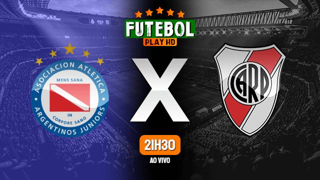 Assistir Argentinos Juniors x River Plate ao vivo HD 21/07/2021 Grátis