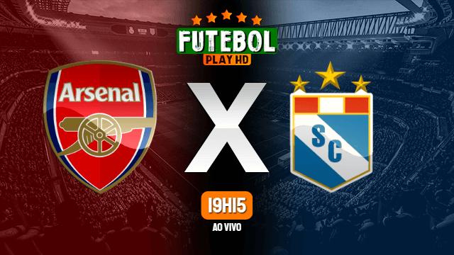 Assistir Arsenal x Sporting Cristal ao vivo Grátis HD 21/07/2021
