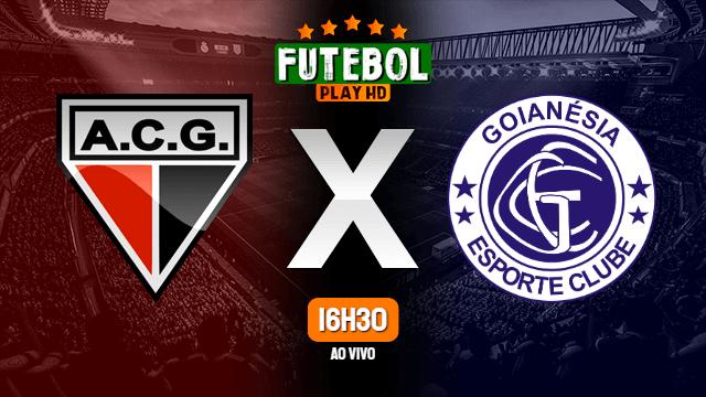 Assistir Atlético-GO x Goianésia ao vivo online 27/02/2021 HD