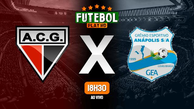 Assistir Atlético-GO x Grêmio Anápolis ao vivo online 09/05/2021 HD