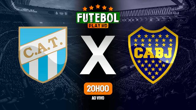 Assistir Atlético Tucumán x Boca Juniors ao vivo HD 18/09/2021 Grátis