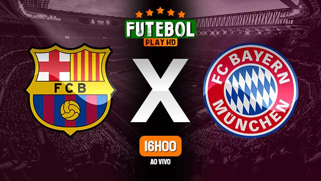 Assistir Barcelona x Bayern de Munique ao vivo 14/09/2021 HD