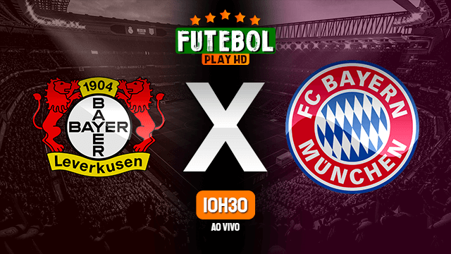 Assistir Bayer Leverkusen x Bayern de Munique ao vivo online 04/07/2020