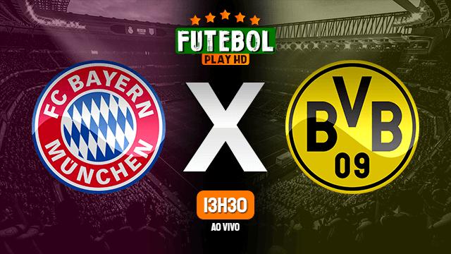 Assistir Bayern x Borussia ao vivo Grátis em HD 26/05/2020