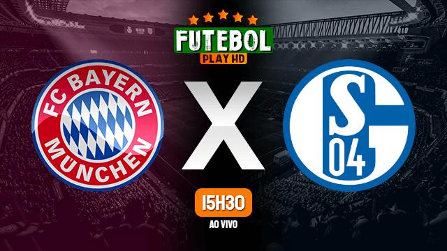 Assistir Bayern de Munique x Schalke 04 ao vivo Grátis HD 18/09/2020