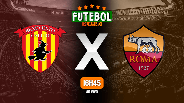 Assistir Benevento x Roma ao vivo online 21/02/2021 HD