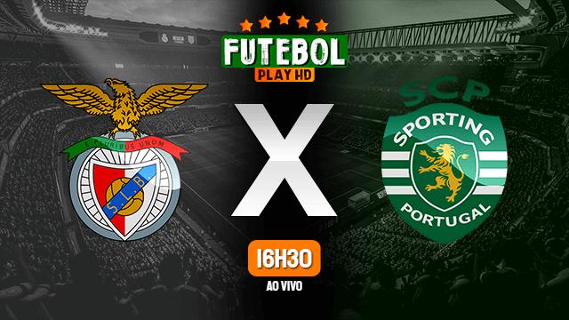 Assistir Benfica x Sporting ao vivo Grátis HD 15/05/2021