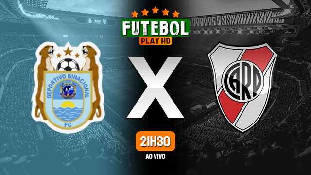 Assistir Binacional x River Plate ao vivo 22/09/2020 HD online