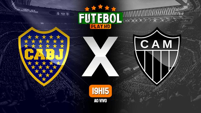 Assistir Boca Juniors x Atlético-MG ao vivo online 20/07/2021 HD