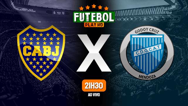 Assistir Boca Juniors x Godoy Cruz ao vivo online HD 23/02/2020