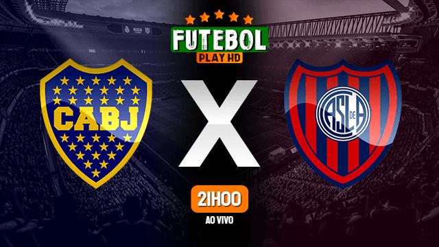 Assistir Boca Juniors x San Lorenzo ao vivo HD 27/07/2021 Grátis