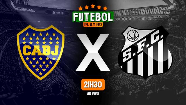 Assistir Boca Juniors x Santos ao vivo Online HD 27/04/2021