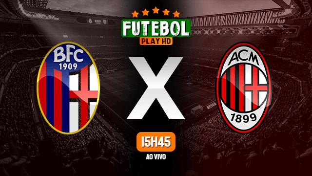 Assistir Bologna x Milan ao vivo online 23/10/2021 HD