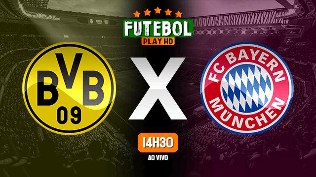 Assistir Borussia Dortmund x Bayern de Munique ao vivo online 26/05/2020