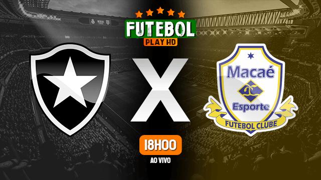 Assistir Botafogo x Macaé ao vivo 25/04/2021 HD online