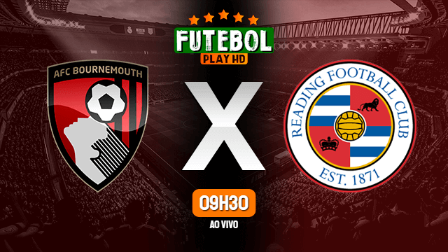 Assistir Bournemouth x Reading ao vivo online 21/11/2020 HD