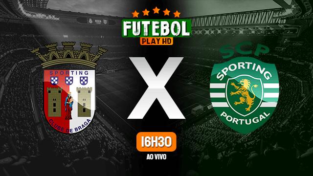 Assistir Braga x Sporting ao vivo HD 25/04/2021 Grátis