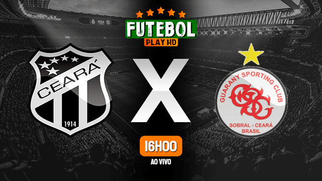 Assistir Ceará x Guarany de Sobral ao vivo online 29/02/2020