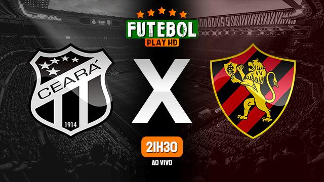 Assistir Ceará x Sport ao vivo online 15/03/2020