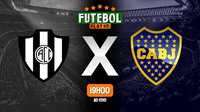 Assistir Central Córdoba x Boca Juniors ao vivo Grátis HD 16/02/2020