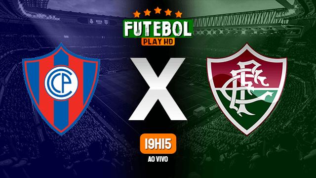 Assistir Cerro Porteño x Fluminense ao vivo HD 13/07/2021 Grátis