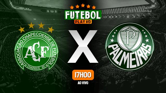 Assistir Chapecoense x Palmeiras ao vivo online 18/09/2021 HD
