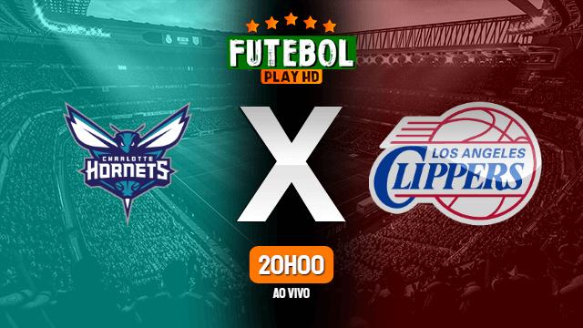 Assistir Charlotte Hornets x Los Angeles Clippers ao vivo HD 13/05/2021 Grátis