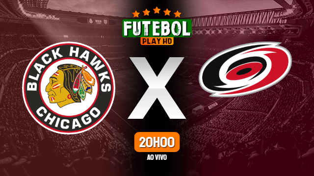 Assistir Chicago Blackhawks x Carolina Hurricanes ao vivo 04/05/2021 HD