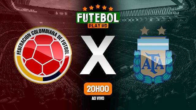 Assistir Colômbia x Argentina ao vivo 08/06/2021 HD