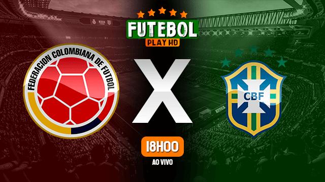Assistir Colômbia x Brasil ao vivo Grátis HD 10/10/2021