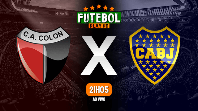 Assistir Colón x Boca Juniors ao vivo online HD 28/02/2020