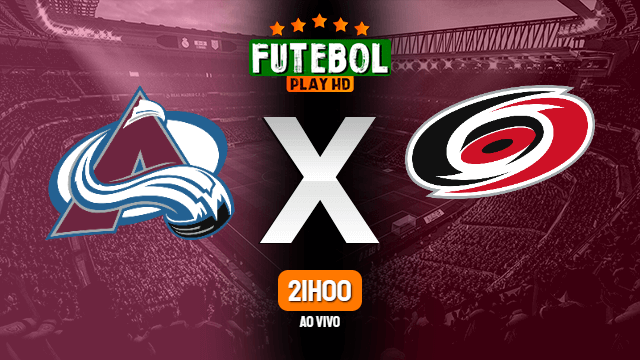 Assistir Colorado Avalanche x Carolina Hurricanes ao vivo online 28/02/2020