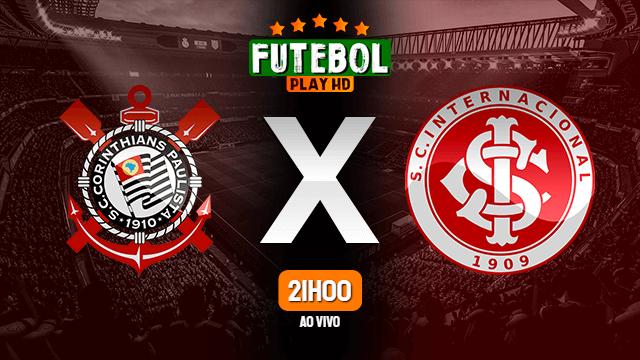 Assistir Corinthians x Internacional ao vivo 03/07/2021 HD online