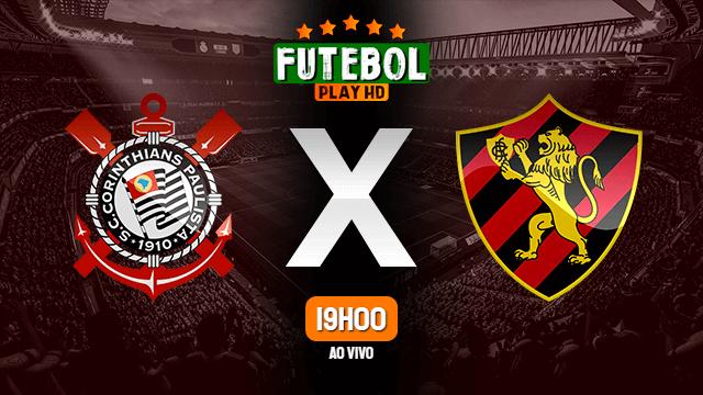 Assistir Corinthians x Sport ao vivo online 24/06/2021 HD