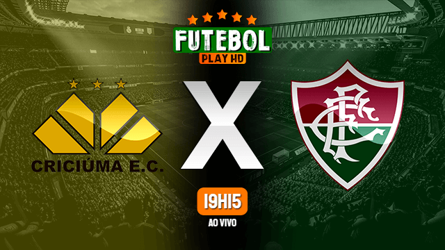 Assistir Criciùma x Fluminense ao vivo Grátis HD 27/07/2021