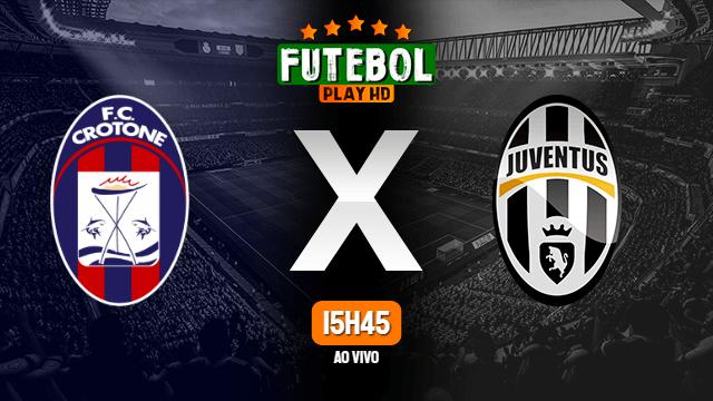 Assistir Crotone x Juventus ao vivo Grátis HD 17/10/2020