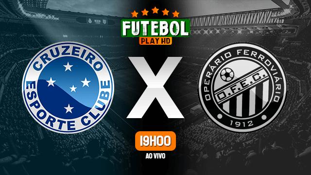 Assistir Cruzeiro x Operário-PR ao vivo online 20/01/2021 HD