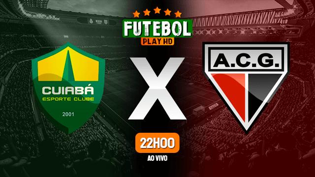 Assistir Cuiabá x Atlético-GO ao vivo 21/07/2021 HD online