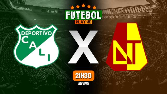 Assistir Deportivo Cali x Tolima ao vivo 06/04/2021 HD online