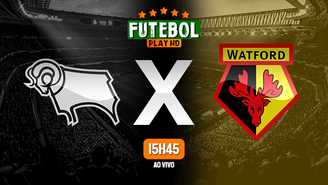 Assistir Derby County x Watford ao vivo 16/10/2020 HD