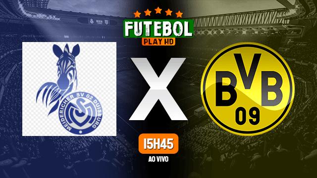 Assistir Duisburg x Borussia Dortmund ao vivo Grátis HD 14/09/2020