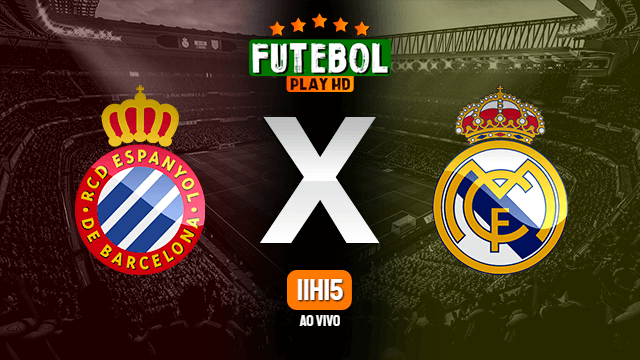 Assistir Espanyol x Real Madrid ao vivo online HD 28/06/2020