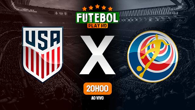 Assistir Estados Unidos x Costa Rica ao vivo HD 13/10/2021 Grátis